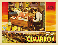 Cimarron (1931) <br /> Lobby card<br /> *Filmstill - Editorial Use Only*<br /> CAP/MFS<br /> Image supplied by Capital Pictures