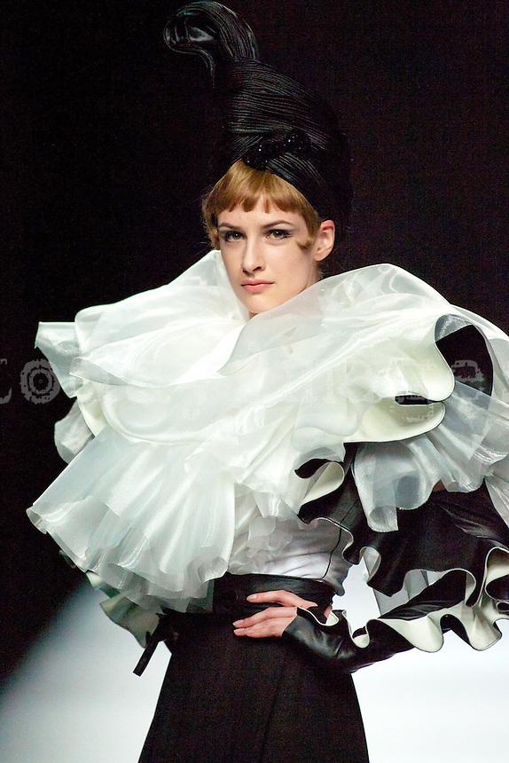 Maria Barros in Mercedes-Benz Fashion Week Madrid 2013