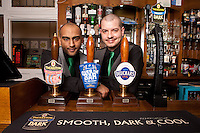 Dhiran Mehta and Ben Spray of the Star pub in Beeston, Nottingham