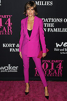 SANTA MONICA, CA, USA - OCTOBER 18: Lisa Rinna arrives at Elyse Walker's 10th Annual Pink Party held at Santa Monica Airport HANGAR:8 on October 18, 2014 in Santa Monica, California, United States. (Photo by Celebrity Monitor)