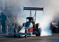 Nov 3, 2019; Las Vegas, NV, USA; NHRA top fuel driver Billy Torrence during the Dodge Nationals at The Strip at Las Vegas Motor Speedway. Mandatory Credit: Mark J. Rebilas-USA TODAY Sports