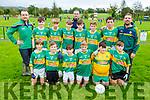 Moyvane U12 team taking part in the Eric Mason Memorial Tournament in Ballymac GAA Club on Saturday.