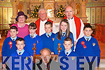 Pupils from Kilmurry NS, Cordal who were confirmed by Bishop Bill Murphy in St Stephen's and John's Church Castleisland on Friday   Copyright Kerry's Eye 2008