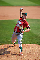 Great Lakes Loons pitcher Bubby Rossman (21) delivers a pitch during a game against the Clinton LumberKings on August 16, 2015 at Ashford University Field in Clinton, Iowa.  Great Lakes defeated Clinton 3-2 in ten innings.  (Mike Janes/Four Seam Images)