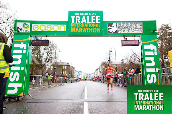 Colette Flannery 1231, who took part in the Kerry's Eye Tralee International Marathon on Sunday 16th March 2014.