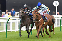 Winner of The European Bloodstock News Ebf 'Lochsong' Fillies' Handicap Belated Breath (2) ridden by Oisin Murphy and trained by Hughie Morrison  during Racing at Salisbury Racecourse on 5th September 2019