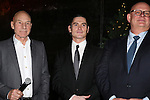 Patrick Stewart, Billy Crudup and Producer Stuart Thompson attending the Broadway Opening Night Performance After Party for  'No Man's Land' / 'Waiting For Godot'  at the Bryant Park Grill in New York City on November 24, 2013.