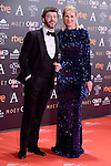 Anne Igartiburu attends to the Red Carpet of the Goya Awards 2017 at Madrid Marriott Auditorium Hotel in Madrid, Spain. February 04, 2017. (ALTERPHOTOS/BorjaB.Hojas)