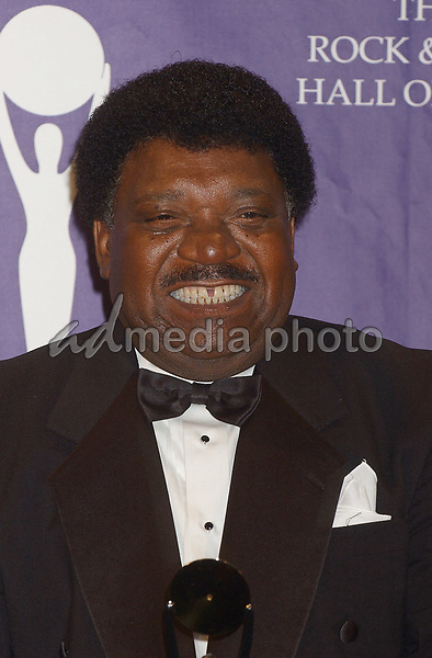 14 March 2005 - New York, New York - Percy Sledge, Inductee. 2005 Rock and Roll Hall of Fame Induction Ceremony held at the Waldorf Astoria. Photo Credit: Laura Farr/AdMedia