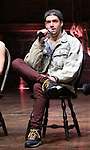 """Ryan Vasquez from the 'Hamilton' cast during a Q & A before The Rockefeller Foundation and The Gilder Lehrman Institute of American History sponsored High School student #EduHam matinee performance of """"Hamilton"""" at the Richard Rodgers Theatre on June 6, 2018 in New York City."""