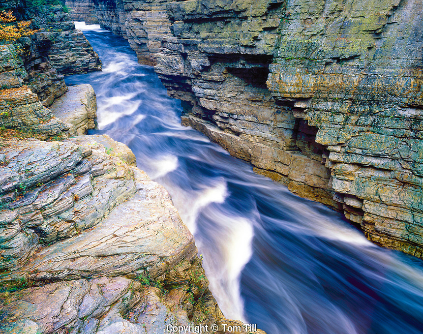 Aussable Chasm, Adirondack Mountains, New York, Potsdam sandstone