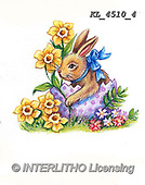 EASTER, OSTERN, PASCUA, paintings+++++,KL4510/4,#e#, EVERYDAY ,rabbits