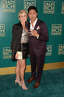 HOLLYWOOD, CA - AUGUST 7: Jon M. Chu at the premiere of Crazy Rich Asians at the TCL Chinese Theater in Hollywood, California on August 7, 2018. <br /> CAP/MPI/DE<br /> &copy;DE//MPI/Capital Pictures