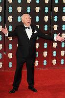 Mel Brooks at the 2017 EE British Academy Film Awards (BAFTA) held at The Royal Albert Hall, London, UK. <br /> 12 February  2017<br /> Picture: Steve Vas/Featureflash/SilverHub 0208 004 5359 sales@silverhubmedia.com