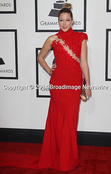 Pictured: Colbie Caillat<br /> Mandatory Credit &copy; Frederick Taylor/Broadimage<br /> 56th Annual Grammy Awards - Red Carpet<br /> <br /> 1/26/14, Los Angeles, California, United States of America<br /> <br /> Broadimage Newswire<br /> Los Angeles 1+  (310) 301-1027<br /> New York      1+  (646) 827-9134<br /> sales@broadimage.com<br /> http://www.broadimage.com