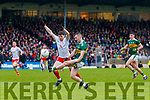 Tom O'Sullivan  Kerry in action against Rory Brennan Tyrone during the Allianz Football League Division 1 Round 1 match between Kerry and Tyrone at Fitzgerald Stadium, Killarney on Sunday.