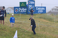 Kurt Kitayama (USA) on the 5th during Round 2 of the Irish Open at LaHinch Golf Club, LaHinch, Co. Clare on Friday 5th July 2019.<br /> Picture:  Thos Caffrey / Golffile<br /> <br /> All photos usage must carry mandatory copyright credit (© Golffile | Thos Caffrey)