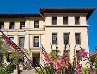 Fowler Hall on the campus of Occidental College, May 29, 2012, Los Angeles. (Photo by Marc Campos, College Photographer)