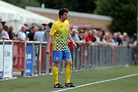 Sam Evans of Harlow Town during Harlow Town vs Leyton Orient, Friendly Match Football at The Harlow Arena on 6th July 2019