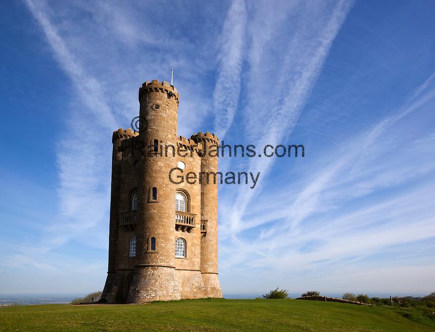 United Kingdom, England, Worcestershire, Broadway: Broadway Tower | Grossbritannien, England, Worcestershire, Broadway: Broadway Tower