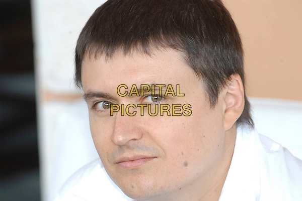 "CHRISTIAN MUNGIU.Photocall for film ""4 Luni, 3 Saptamini Si 2 Zile"" , .Rome, Italy, August 24th 2007..portrait headshot                .CAP/CAV.©Luca Cavallari/Capital Pictures."