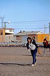 Woman Playing Softball, Barrow