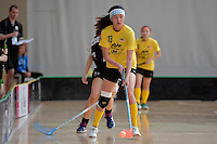 Malaysia's Yen Yen Goh in action during the World Floorball Championships 2017 Qualification for Asia Oceania Region - New Zealand v Malaysia at ASB Sports Centre , Wellington, New Zealand on Saturday 4 February 2017.<br /> Photo by Masanori Udagawa<br /> www.photowellington.photoshelter.com.