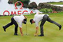 Michael Hendry and Gareth Paddison of New Zealand in action during the third round of the Omega Mission Hills World Cup played at The Blackstone Course, Mission Hills Golf Club on November 26th in Haikou, Hainan Island, China.( Picture Credit / Phil Inglis )