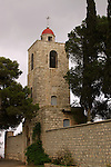 Israel, Jezreel valley, the Greek Orthodox monastery St. Elias, named after Elijah the prophet on Mount Tabor