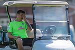 09.05.2018, Trainingsgelaende, Bremen, GER, 1.FBL, Training SV Werder Bremen<br /> <br /> im Bild<br /> Max Kruse (Werder Bremen #10) ruht sich im Golfcart aus, <br /> <br /> Foto &copy; nordphoto / Ewert