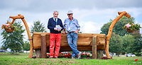 Technical Delegate and Course Designer: Pierre Michelet and John Nicholson, during the Weatherbeeta CIC2* - Waiteko Trophy Championship Cross Country. 2018 NZL-Kihikihi International Horse Trial. Saturday 7 April. Copyright Photo: Libby Law Photography