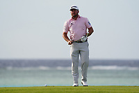 Graeme McDowell (NIR) on the 17th during Round 3 of the Saudi International at the Royal Greens Golf and Country Club, King Abdullah Economic City, Saudi Arabia. 01/02/2020<br /> Picture: Golffile | Thos Caffrey<br /> <br /> <br /> All photo usage must carry mandatory copyright credit (© Golffile | Thos Caffrey)