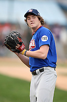 January 17, 2010:  Kevin Skeldon (Okotoks, AB) of the Baseball Factory Great Lakes Team during the 2010 Under Armour Pre-Season All-America Tournament at Kino Sports Complex in Tucson, AZ.  Photo By Mike Janes/Four Seam Images