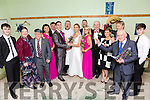 The Cast Wedding Party  of  'One Wedding And A Funeral' event at at the Na Gaeil GAA  clubhouse on Saturday night