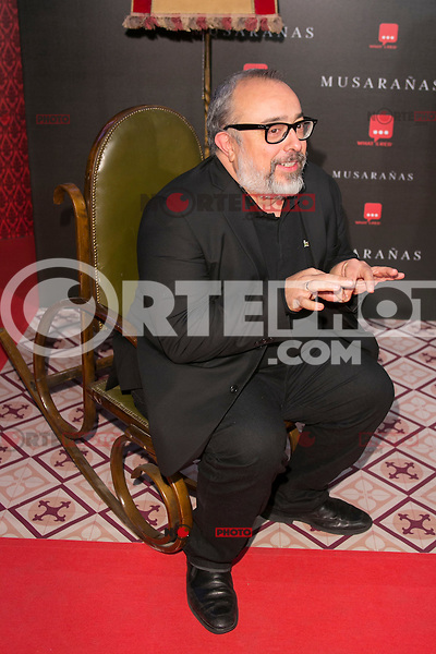 "Alex de la Iglesia attend the Premiere of the movie ""Musaranas"" in Madrid, Spain. December 17, 2014. (ALTERPHOTOS/Carlos Dafonte) /NortePhoto /NortePhoto.com"