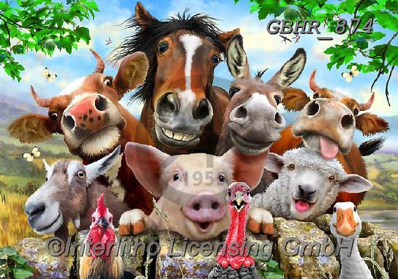Howard, SELFIES, paintings+++++,GBHR874,#Selfies#, EVERYDAY ,horses