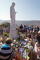 via crucis at Podbrdo