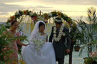 JAPANESE WEDDING, IN PALAU MICRONESIA