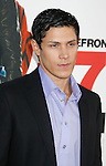 """HOLLYWOOD, CA. - April 14: Alex Meraz arrives at the premiere of Warner Bros. """"17 Again"""" held at Grauman's Chinese Theatre on April 14, 2009 in Hollywood, California."""