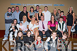 BABY JOY: Proud parents Natasha Donovan, Ballyrickard and Stephen Fitzgerald, Mitchell's Avenue (seated centre) celebrated the Christening of their little baby boy Stephen with family and friends at the Abbeygate Hotel on Saturday.   Copyright Kerry's Eye 2008