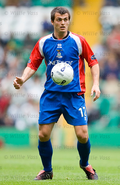 Russell Duncan, Inverness Caledonian Thistle.stock season 2005-2006.pic willie vass