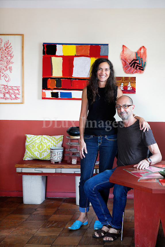 JILL LEVINE and STEVE KEISTER portraits