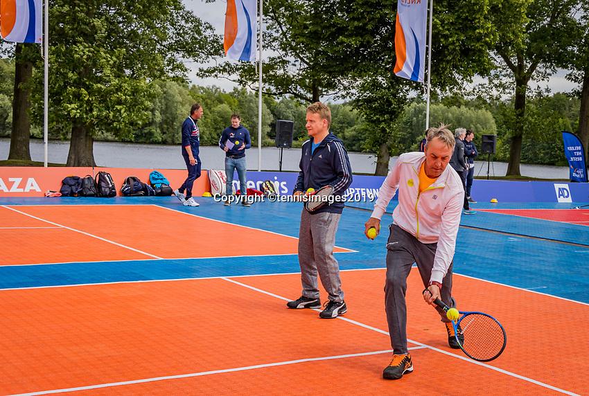 Rosmalen, Netherlands, 13 June, 2019, Tennis, Libema Open, senioren<br /> Photo: Henk Koster/tennisimages.com