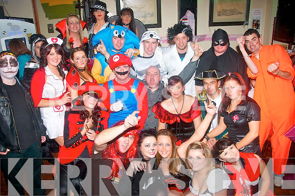 Staff of Argos,The Horan Centre,Tralee raised alot of money for the Charity Teenage Cancer Trust at their Halloween party in Turners bar,Castle St,Tralee last Sunday night..