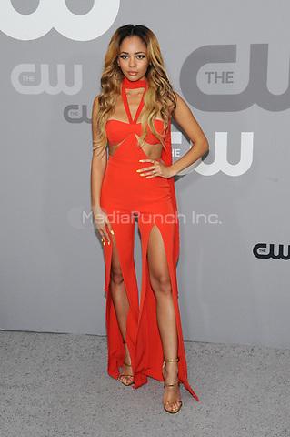 NEW YORK, NY - MAY 17: Vanessa Morgan at the 2018 CW Network Upfront at The London Hotel on May 17, 2018 in New York City. Credit: John Palmer/MediaPunch