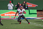 Western Kentucky Hilltoppers wide receiver Lucky Jackson (11) in action during the Servpro First Responder Bowl game between Western Michigan Broncos and the Western Kentucky Hilltoppers at the gerald Ford Stadiuml Stadium in Dallas, Texas.
