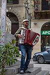 Street Musician, Palerma, Sicily