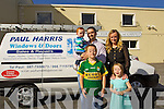 Paul & Elaine Harris with children .Cathal, Dylan and Sarah.