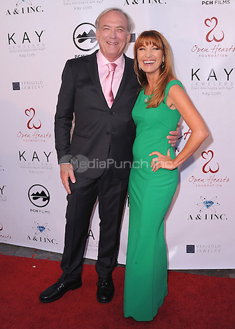 MALIBU, CA - MAY 10:  James Keach and Jane Seymour at the 4th Annual Open Hearts Gala at a private residence on May 10, 2014 in Malibu, California. Credit: PGSK/MediaPunch