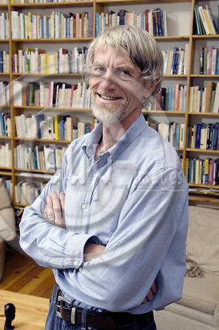 Brussels-Belgium - 18 July 2008---Philippe VAN PARIJS, Belgian philosopher and political economist, Professor at i.a. UCL and Harvard---Photo: Horst Wagner / eup-images